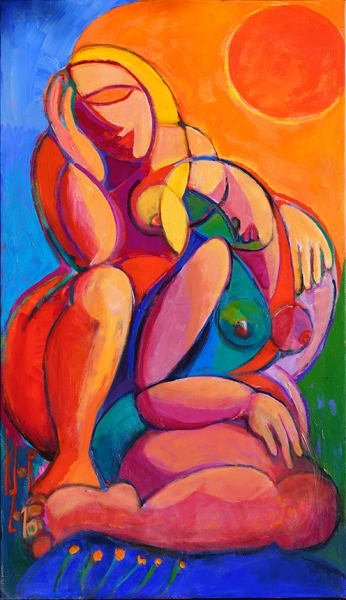 0128 Frauen in der Sonne II