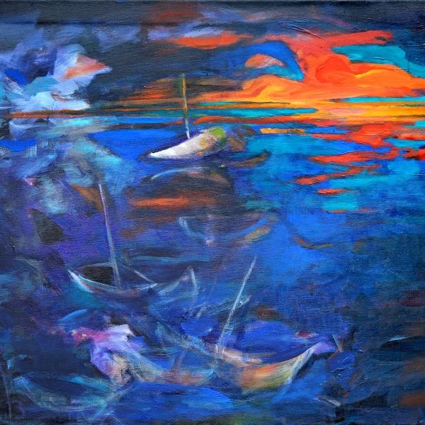 0144 Abziehendes Gewitter am Starnberger See