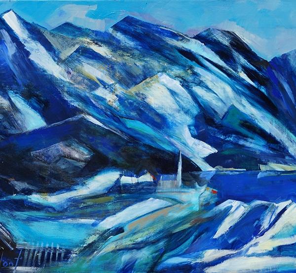 0145 Schneeschmelze in den Bergen